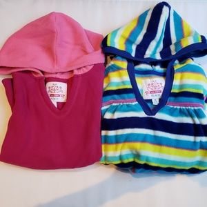Children's Place two fleece hoodies 7/8